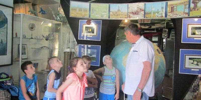 Сьогодні були з дітьми в Полтавському музеї космонавтики